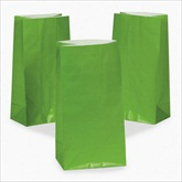 RTD-2323 - Green Paper Treat Bags