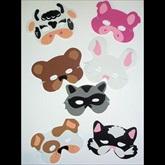 RTD-2331 - Farm Animal and Woodland Creatures Foam Masks