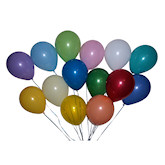 RTD-2391 - Assorted Color Latex Balloons - Large 12 inch
