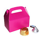 RTD-2407 - Mini Hot Pink Treat Box for Party Favors