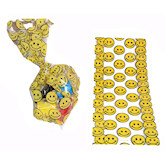 RTD-2408 - Smiley Happy Face Cellophane Treat Bag