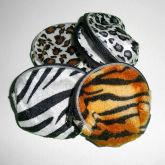 RTD-2452 - Jungle Safari Zoo Animal Print Change Purse