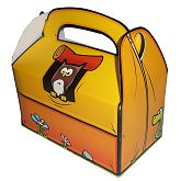 RTD-2491 - Camp Out Woodland Creatures Pop Tent Party Favor Treat Boxes