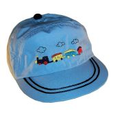 RTD-2503 - Train Hat for Toddlers - Lt Blue - Medium