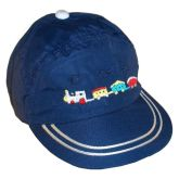 RTD-2506 - Train Hat for Toddlers - Navy Blue - Medium