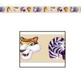 RTD-2546 - Jungle Safari Animal 20 foot Party Tape Decoration