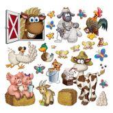 RTD-2563 - Insta-Theme Barnyard Farm Animal Party Props