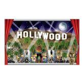 RTD-2564 - 5ft Hollywood Movie Night Backdrop Window Scene Banner Prop