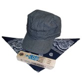 RTD-2598 - Super Deluxe Train Engineer Set - Navy Scarf