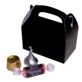 RTD-2623 - Mini Black Treat Box for Party Favors