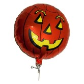 RTD-2643 - 18 inch Halloween Pumpkin Jack-O'-Lantern Balloon