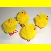 RTD-2683 - 1.5 inch Soft Fuzzy Yellow Chick