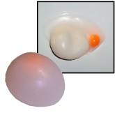 RTD-2686 - Stretchy Egg with Yolk Splat Ball