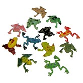 RTD-2693 - Realistic Assorted Mini Vinyl Frogs