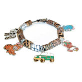 RTD-2702 - Jungle Safari Charm Bracelet