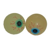 RTD-2741 - Glow-In-The-Dark Bouncy Rubber Eyeball Ball