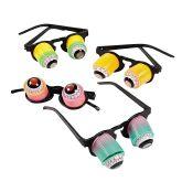 RTD-2834 - Childs Plastic Hanging Rainbow Goo-Goo Eyeglasses