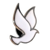 RTD-2976 - White Dove Pin