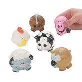 RTD-3177 - Foam Farm Animal Squeeze Ball