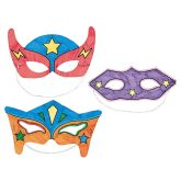 RTD-3182 - Color Your Own Superhero Mask