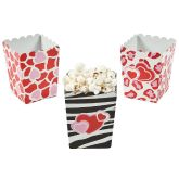 RTD-3281 - Mini Valentine's Day Popcorn Treat Party Favor Box