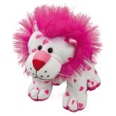 RTD-3288 - Plush Pink Hearts Lion