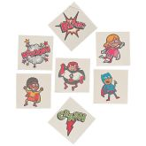 RTD-3301 - 36-pack of Superhero Temporary Tattoos