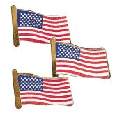 RTD-3316 - Metal USA Flag Pins