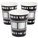 RTD-3425 - 8-pack of Movie Night VIP Paper Cups