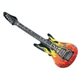 RTD-3450 - Large Inflatable Flames Guitar