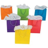 RTD-3455 - Medium Neon Paper Gift Bag