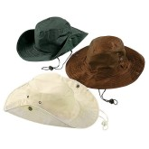 RTD-3513 - 1 Cotton Outback Hat - Assorted Colors