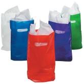 RTD-3555 - Assorted Color Medium Plastic Treat Bags