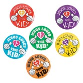RTD-3569 - Jesus Loves This Kid Mini Metal Pins