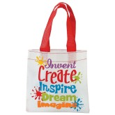 RTD-3570 - Mini Tote Bags for Little Artists