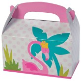 RTD-3572 - Flamingo Treat Boxes for Zoo Animal Party Treats