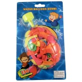 RTD-3580 - 136-Pack of Water Balloons w/ Filler Nozzle