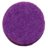RTD-3626 - Purple Pad for Essential Oils Diffusing Locket Pendant