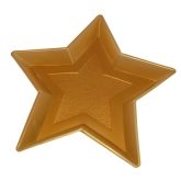 RTD-3718 - Gold Star Shaped 13 inch Snack Tray for Movie Night