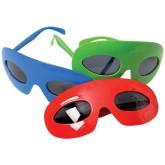 RTD-3840 - Superhero Plastic Mask Glasses