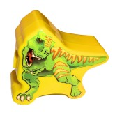 RTD-3893 - T-Rex Plastic Treat Box w/ Dinosaur Party Favors, Stickers, Crayons