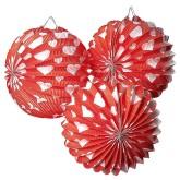 RTD-3897 - Valentine Heart Paper Balloon Lanterns