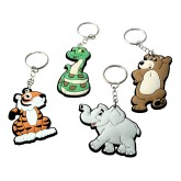 RTD-3913 - Cute Zoo Animal Key Chain