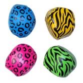 RTD-3922 - Neon Zoo Animal Safari Print Kick Balls
