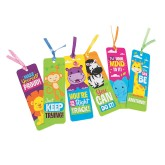 RTD-3964 - Inspirational Jungle Zoo Animal Bookmarks