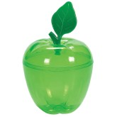 RTD-3971 - Plastic Green Apple Container