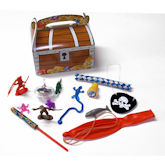RTD-4046 - Treasure Chest Novelty Party Favors Gift Pack