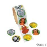 RTD-4120 - Zoo Animal Sticker Roll