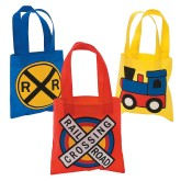 RTD-4367 - Mini Tote Bags for Train Parties