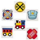 RTD-4368 - 36-Pack of Train Party Tattoos